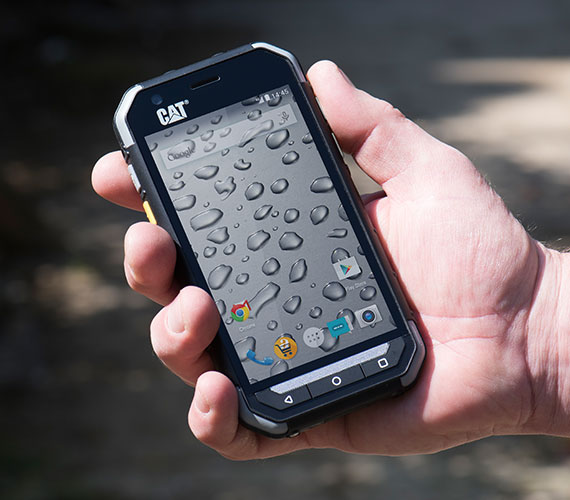 cat s30 pegada celular