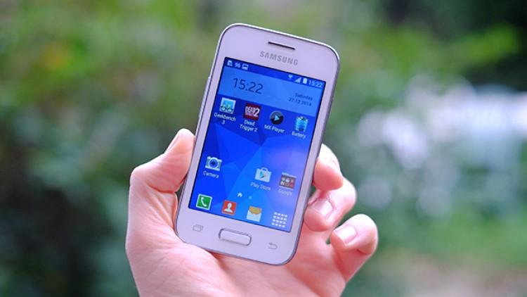 A Samsung tem celulares baratos na sua linha. (Foto: Divulgação)