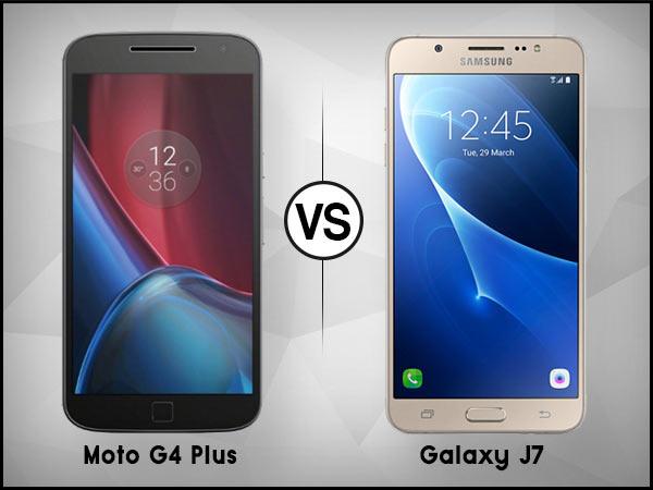 Samsung J7 X Moto G4