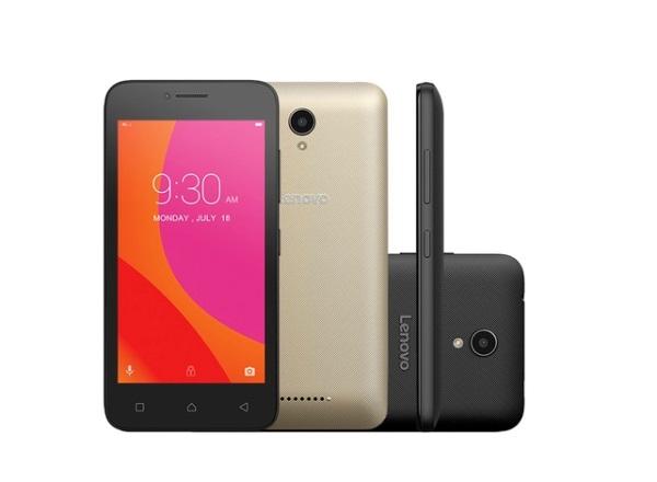 Smartphone Lenovo Vibe B. (Foto: Divulgação)