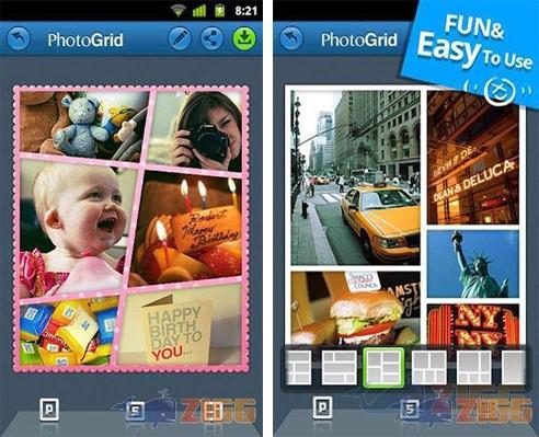 photo grid montagens