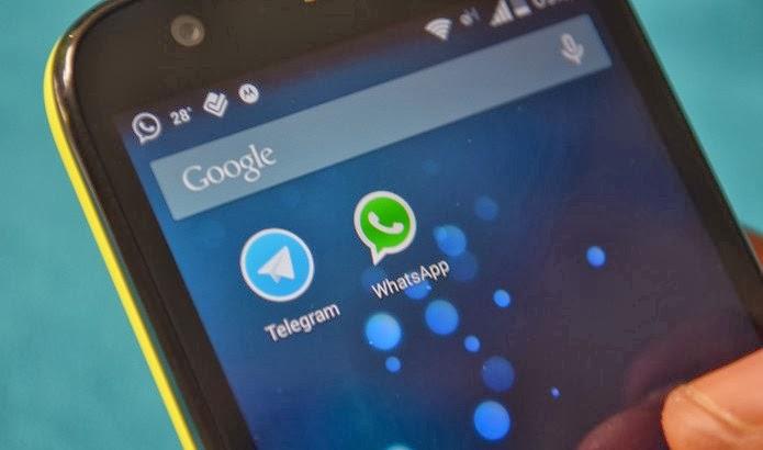 telegram whatsapp melhor