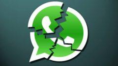WhatsApp fora do ar